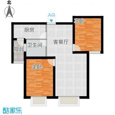 贻成豪庭88.00㎡户型10室