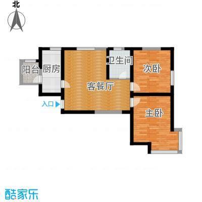 贻成豪庭90.00㎡E5户型10室