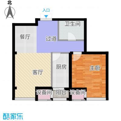 天保金海岸明珠湾63.88㎡L户型10室