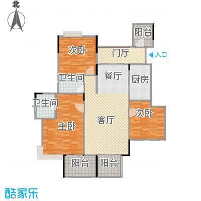 斌鑫中央国际公园112.48㎡一期2-7号楼标准层1户型2室2厅2卫