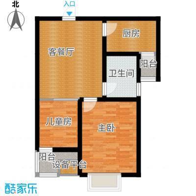 弘泽天泽61.98㎡户型10室