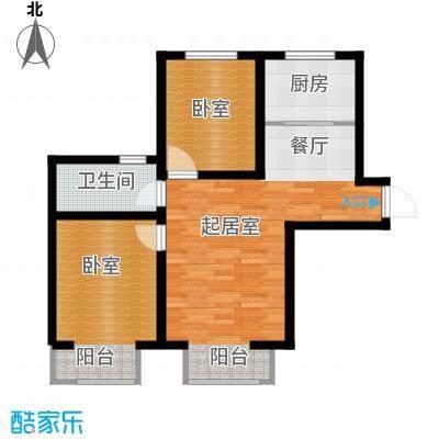 富贵嘉园74.03㎡户型10室