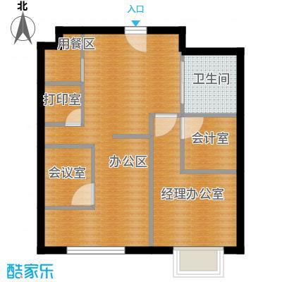 滨海先锋SOHO78.00㎡A1改造后�户型10室