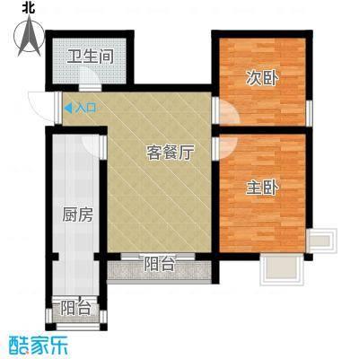 天保金海岸明珠湾69.63㎡F户型10室
