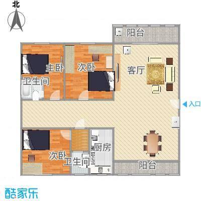 阳光雅居3室2厅2卫