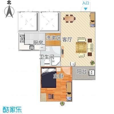 西部公馆59平chunmianji