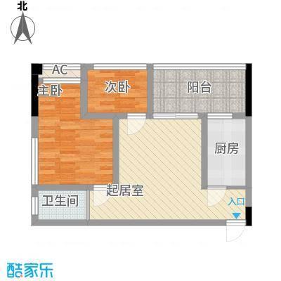 尚高・锦都尚高・锦都户型图二室二厅一卫户型10室