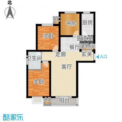 汇通新城131.00㎡汇通新城1#A户型3室2厅2卫1厨131.00㎡户型3室2厅2卫1厨