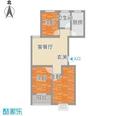 富通・香树湾富通DM-反 2 3室1厅1卫1厨 113.50㎡