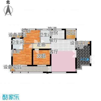 华强城・卡塞雷斯F01 3室2厅2卫1厨 117.00㎡