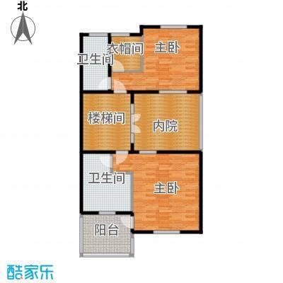 柳溪美庐93.00㎡hx-lxml-lianpai-g3-max户型2室2卫