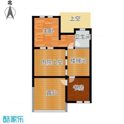 柳溪美庐55.00㎡hx-lxml-lianpai-e4-max户型2室1卫