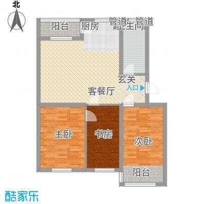 大树花园108.00㎡大树花园T户型布置图3室2厅1卫1厨108.00㎡户型3室2厅1卫1厨