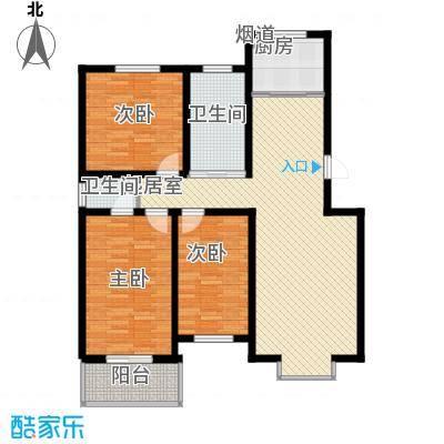 御沁园131.01㎡御沁园户型图H3室2厅2卫1厨131.01㎡户型3室2厅2卫1厨