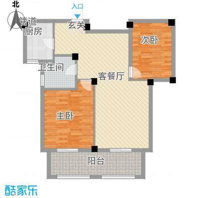宏宇・龙湖湾92.46㎡宏宇・龙湖湾户型22室2厅1卫92.46㎡户型2室2厅1卫