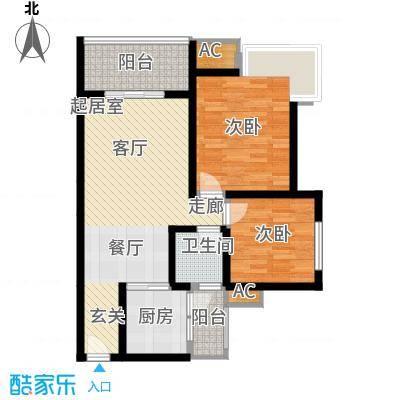 九鼎蓝波湾85.80㎡九鼎蓝波湾1#A户型10室