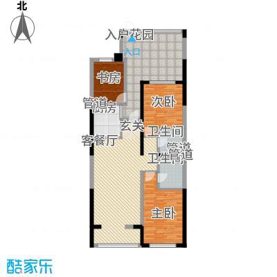 天力水榭春城113.24㎡天力水榭春城J2A3室2厅2卫113.24㎡户型3室2厅2卫