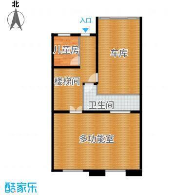 柳溪美庐104.00㎡hx-lxml-lianpai-g1-max户型1室1卫