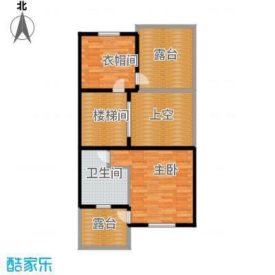 柳溪美庐70.00㎡hx-lxml-lianpai-g4-max户型1室1卫