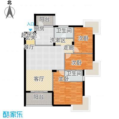 名人港湾名人港湾户型图5#H3室2厅2卫1厨户型10室