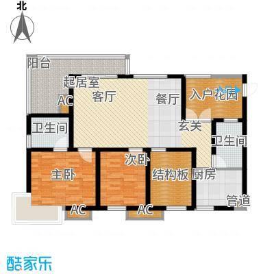 九鼎蓝波湾105.01㎡九鼎蓝波湾D户型10室