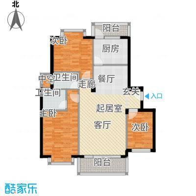 名人港湾名人港湾户型图1#C3室2厅2卫1厨户型10室