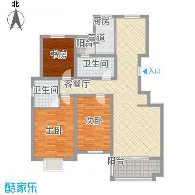 东城名邸139.79㎡东城名邸D3室2厅2卫1厨139.79㎡户型3室2厅2卫1厨