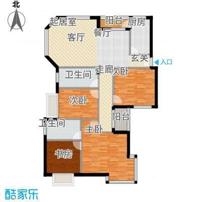 名人港湾141.28㎡名人港湾户型图1#A3室2厅2卫1厨141.28㎡户型3室2厅2卫1厨