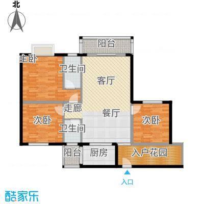 聚福雅居115.02㎡聚福雅居F栋03单元户型3室2厅2卫1厨115.02㎡户型3室2厅2卫1厨
