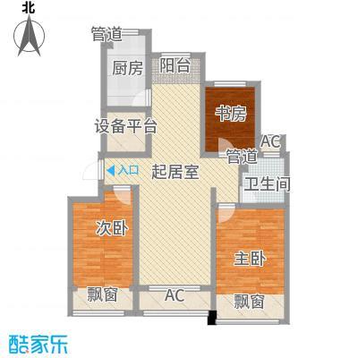 绿地世纪城绿地世纪城E3-127㎡三室两厅一卫户型10室