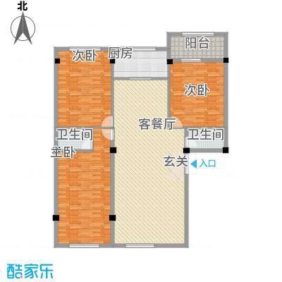 龙清花园120.00㎡龙清花园户型图户型图3室2厅2卫1厨户型3室2厅2卫1厨