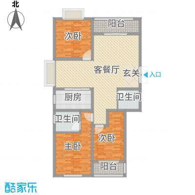泰和・水岸嘉园泰和・水岸嘉园3号奢华三居户型10室