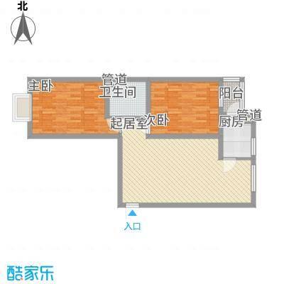 锦湖花园78.78㎡锦湖花园户型图42室1厅1卫78.78㎡户型2室1厅1卫