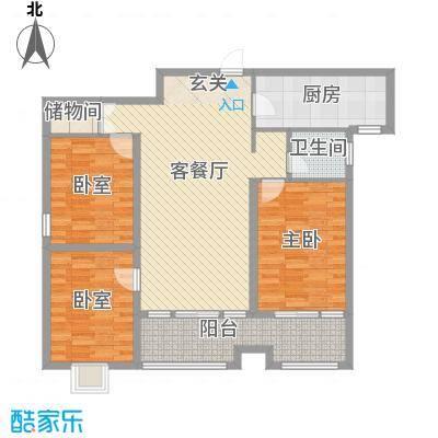 东盛・公园1号东盛・公园1号三室两厅一卫户型10室