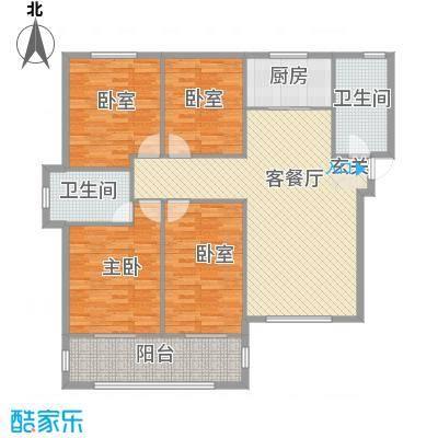 东盛・公园1号东盛・公园1号四室两厅两卫户型10室