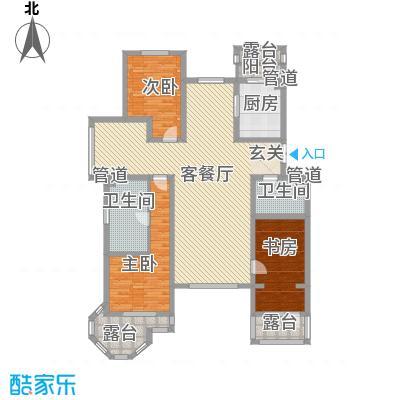 御龙仙语湾175.00㎡御龙山语湾A8新3室2厅2卫1厨175.00㎡户型3室2厅2卫1厨
