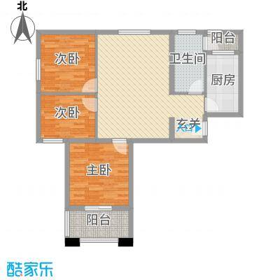 华茂万和城105.38㎡华茂万和城户型图G4户型图3室2厅2卫1厨户型3室2厅2卫1厨