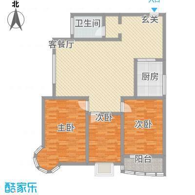 龙悦湾三期140.38㎡龙悦湾三期e3室2厅1卫1厨140.38㎡户型3室2厅1卫1厨