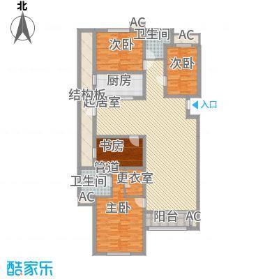 东方名都151.90㎡东方名都7、8#C24室2厅2卫1厨151.90㎡户型4室2厅2卫1厨