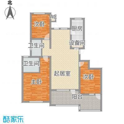 东方名都135.92㎡东方名都7.8C13室2厅2卫1厨135.92㎡户型3室2厅2卫1厨
