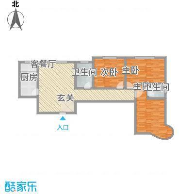 龙悦湾三期134.33㎡龙悦湾三期b3室2厅2卫1厨134.33㎡户型3室2厅2卫1厨