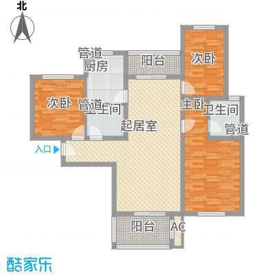 星光城128.00㎡星光城户型图D户型3室2厅2卫1厨户型3室2厅2卫1厨