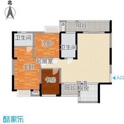 纳帕溪谷纳帕溪谷户型图四期幸会E1户型3室2厅2卫1厨户型3室2厅2卫1厨