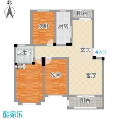 东昌玉龙公馆户型图C2-1