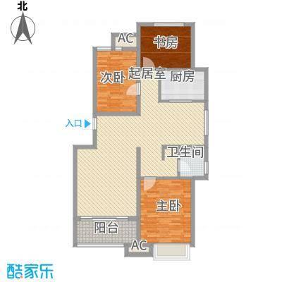 东方名都116.42㎡东方名都2#A43室2厅1卫1厨116.42㎡户型3室2厅1卫1厨