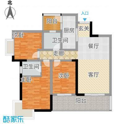 张坝・天府花园张坝天府花园A3户型10室