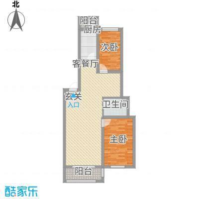 南山秀水91.73㎡南山秀水多层8#二室二厅一卫91.73平户型10室