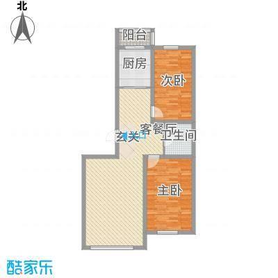 南山秀水106.48㎡南山秀水高层7#一层二室二厅一卫106.48平户型10室