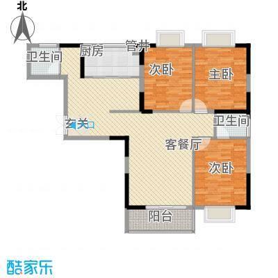 万事达生活广场138.92㎡万事达生活广场1#D户型3室2厅2卫1厨138.92㎡户型3室2厅2卫1厨
