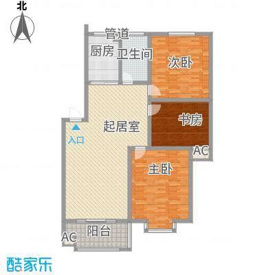 名仕・佳园105.35㎡名仕・佳园户型图名仕C33室2厅1卫1厨户型3室2厅1卫1厨